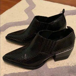 NWT DKNY black booties